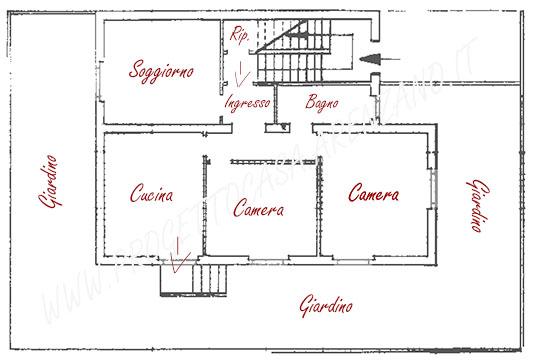 Appartamento Arenzano con grande serra adiacente